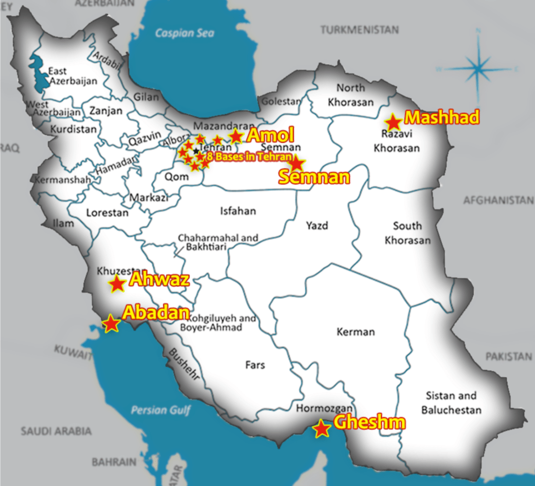 IRAN Revealing IRGCs Terrorist Training Camps for Foreign