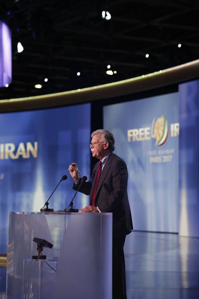 Maryam Rajavi at the 'Free Iran' Rally in Paris