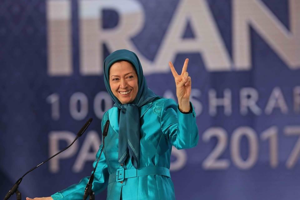 Maryam Rajavi discusses Iranian opposition