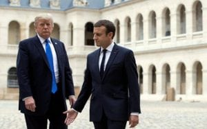 Trump, Macron: Join Forces With Allies to Counter Destabilization Attempts of Iran Regime and Hezbollah